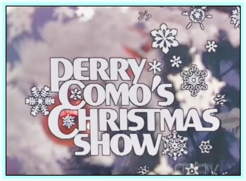 PERRY COMO'S CHRISTMAS SHOW - DVD - 1974