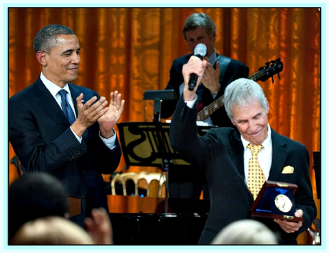 BURT BACHARACH & HAL DAVID - AT THE WHITE HOUSE