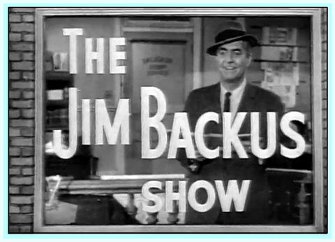 HOT OFF THE WIRE - (JIM BACKUS SHOW) -  1960 - DVD