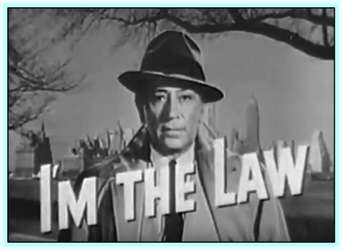 I'M THE LAW - TV SERIES - GEORGE RAFT - 1953 - DVD