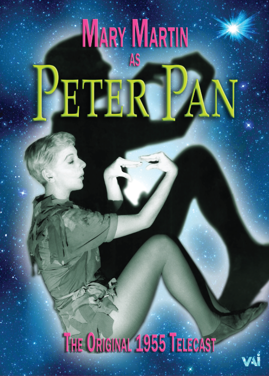 MARY MARTIN as PETER PAN, The Original 1955 Telecast (DVD)