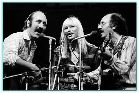 PETER, PAUL AND MARY SHOWS - 5 SHOWS - 4 DVDS
