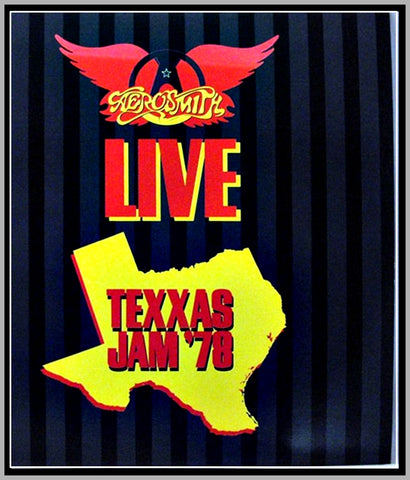 AEROSMITH - TEXAS JAM - 1978 - DALLAS - 1 DVD