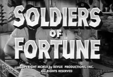 Soldiers of Fortune | Adventure | TV Series (1955–1957) 10 DVDS!