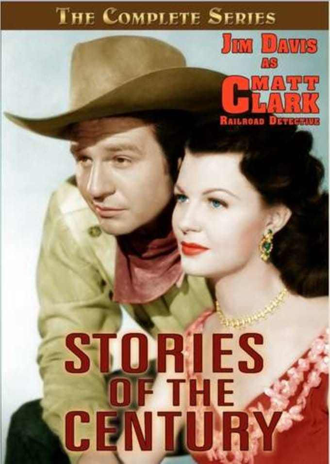 Stories of the Century  TV-PG - Western | TV Series (1954) 5 DVDS