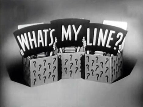 What's My Line? 3/18/56 (Tribute to Fred Allen) - 1 DVD