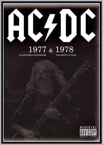 AC/DC EARLY DAYS - 1977 - 1978 - 1 DVD