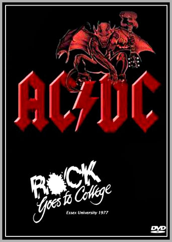 AC/DC - ROCK GOES TO COLLEGE - 1978 - 1 DVD