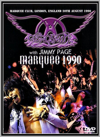 AEROSMITH WITH JIMMY PAGE - LONDON - 1990 - 1 DVD