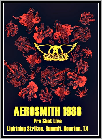 AEROSMITH LIVE IN HOUSTON - 1987 - DVD