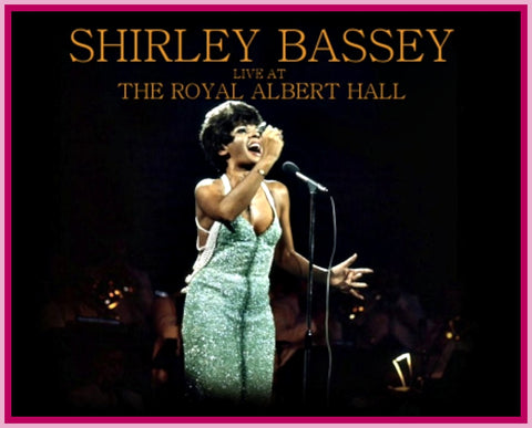 BBC IN CONCERT - 1 DVD - SHIRLEY BASSEY - ROYAL ALBERT HALL UK - 1972 - 45 MINUTES