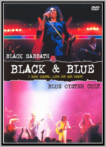 BLACK SABBATH - BLUE OYSTER CULT - NASSAU COLISEUM - 1980 - 1 DVD