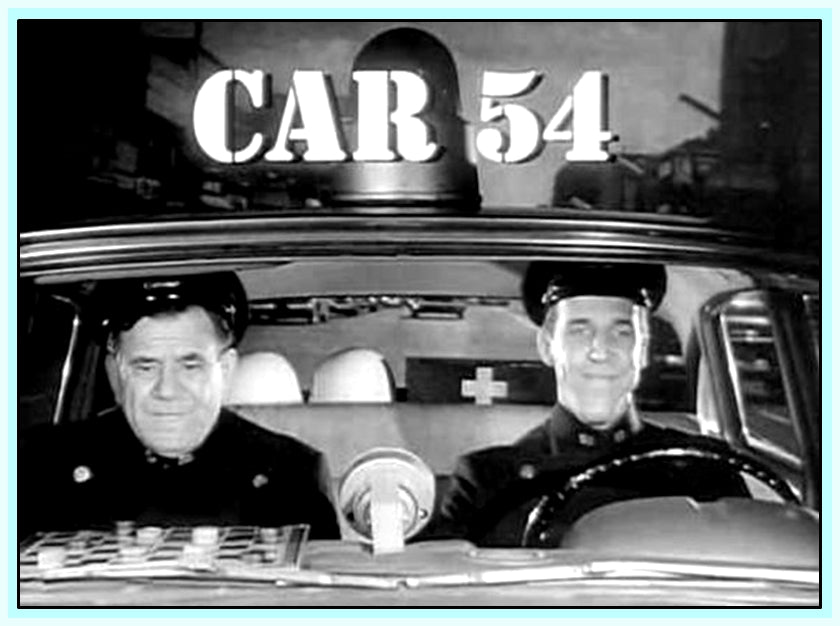CAR 54 WHERE ARE YOU ? - COMPLETE - SERIES IN 6 DVDS
