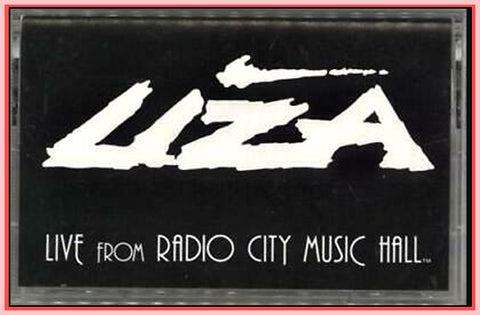 """LIZA LIVE FROM RADIO CITY MUSIC HALL"" - 1992"
