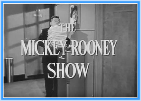 "THE MICKEY ROONEY SHOW - PILOT - 1954 - RARE - ""DIGITAL PRODUCT"""