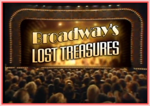 """BROADWAY'S LOST TREASURES - THE BEST OF THE TONY AWARDS"" - DVD"