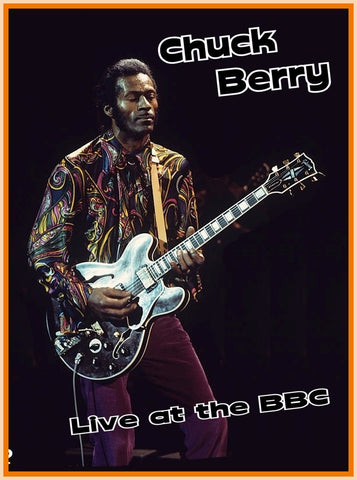 BBC IN CONCERT - CHUCK BERRY - 1 DVD - (LONGER VERSION, DIGITAL REBROADCAST) -  3/29/72