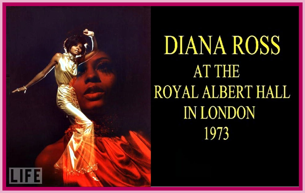 DIANA ROSS LIVE AT ROYAL ALBERT HALL - DVD