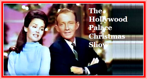 HOLLYWOOD PALACE CHRISTMAS SHOW WITH BING CROSBY - BOB WILLIAMS AND LOVIE THE DOG - GUY MARX, FRANK SINATRA JR. - RARE DVD