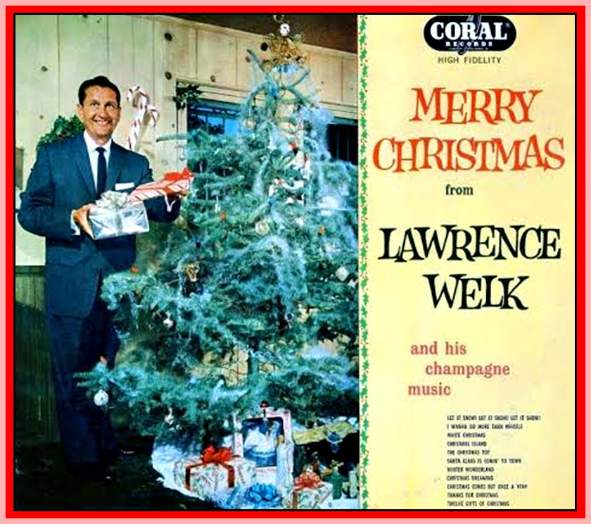 THE LAWRENCE WELK CHRISTMAS SHOW 1965 - RARE DVD