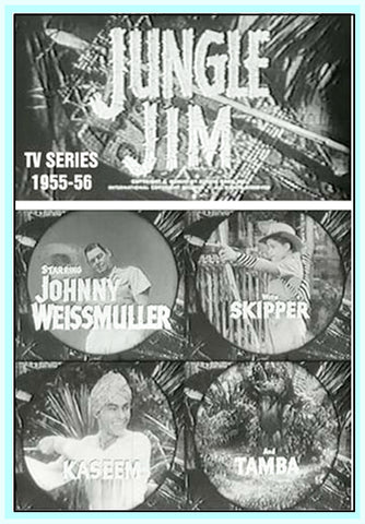 JUNGLE JIM TV SERIES - COMPLETE - JOHNNY WEISMUELER - DVD
