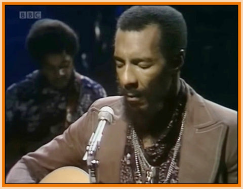 BBC IN CONCERT - 1 DVD - RICHIE HAVENS - 1974 - 36 MINUTES - CRYSTAL