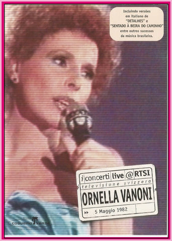 ORNELLA VANONI - TV - MAY/05/1982- DVD