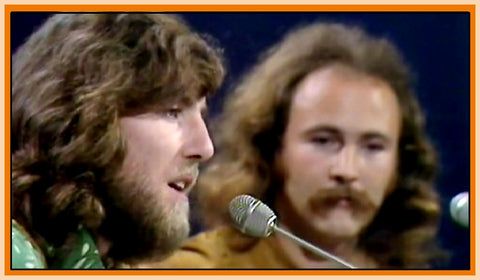 BBC IN CONCERT - 1 DVD - DAVID CROSBY & GRAHAM NASH - 11/9/70