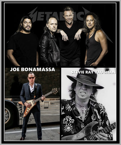 AUSTIN CITY LIMITS - STEVIE RAY VAUGHAN - JOE BONAMASSA - METALLICA - DVD