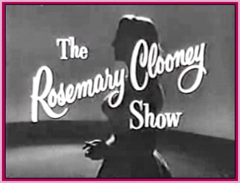 ROSEMARY CLOONEY SHOW - WITH FRANCIS BERGEN -- DVD
