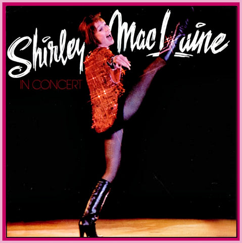 SHIRLEY MACLAINE LIVE IN LOS ANGELES - DVD - 1986 - UNCUT - COMPLETE!