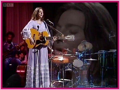JUDY COLLINS - 1 DVD-  BBC IN CONCERT - (DIGITAL REBROADCAST) - 1973 - 33 MINUTES