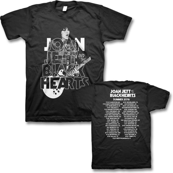2016 Retro Tour T-shirt - Joan Jett Official Store