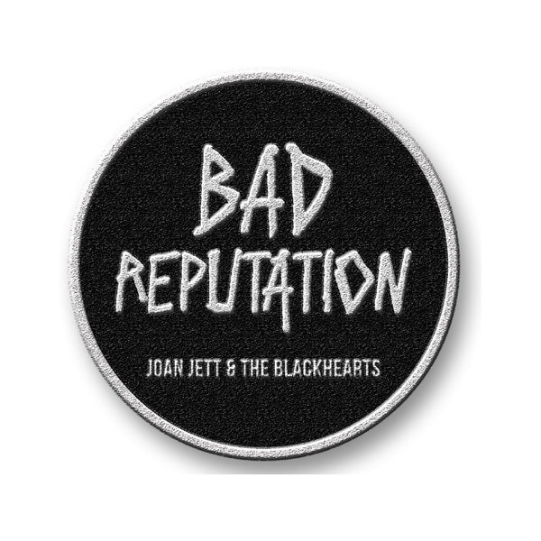 Official Joan Jett & The Blackhearts Embroidered Bad Reputation Patch