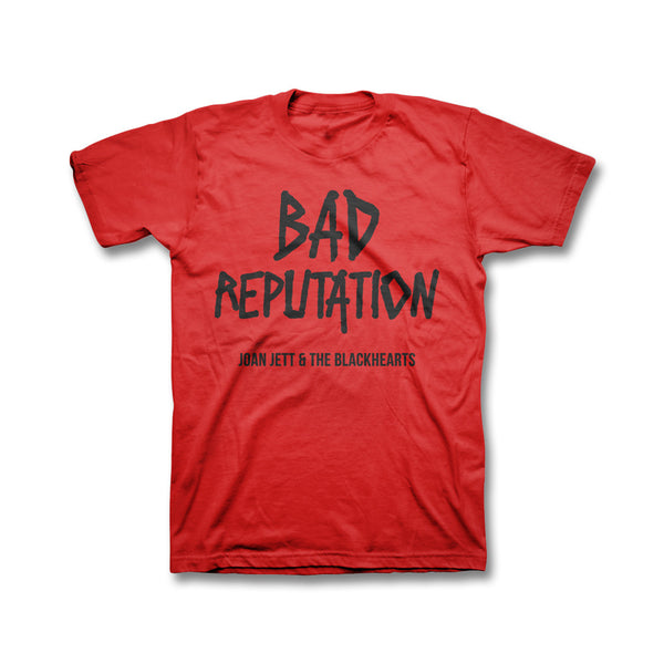 Bad Reputation Youth T-shirt - Red