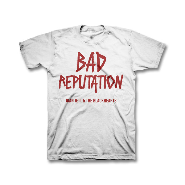 Bad Reputation Youth T-shirt - White