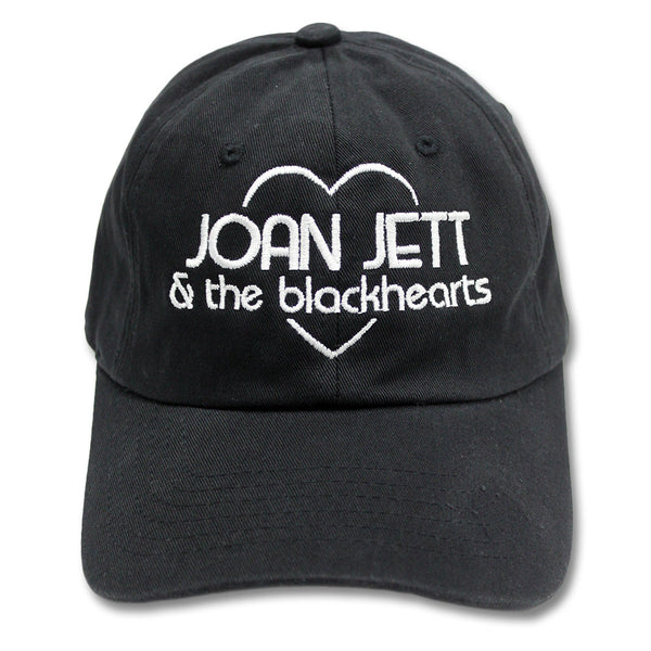 Embroidered Logo Unstructured Hat - Joan Jett Official Store