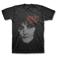 Painted Heart T-shirt - Men's - Joan Jett Official Store - 1