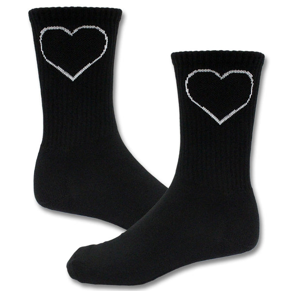 Official Joan Jett & The Blackhearts Blackheart Logo Socks