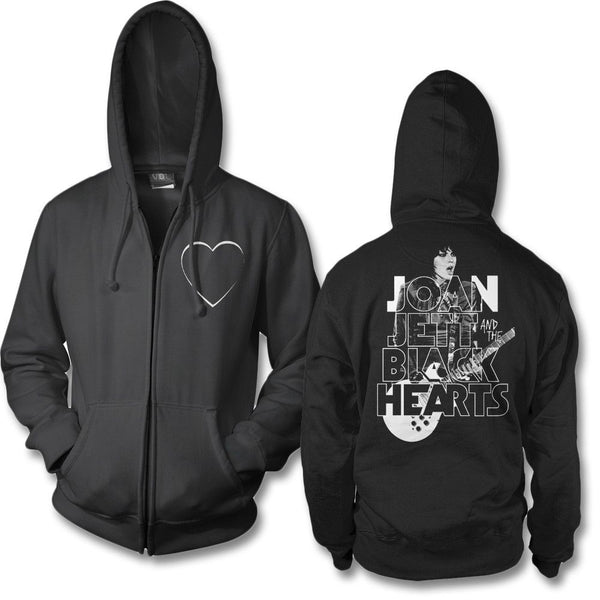 Retro Type Zip Hoodie - Joan Jett Official Store - 1