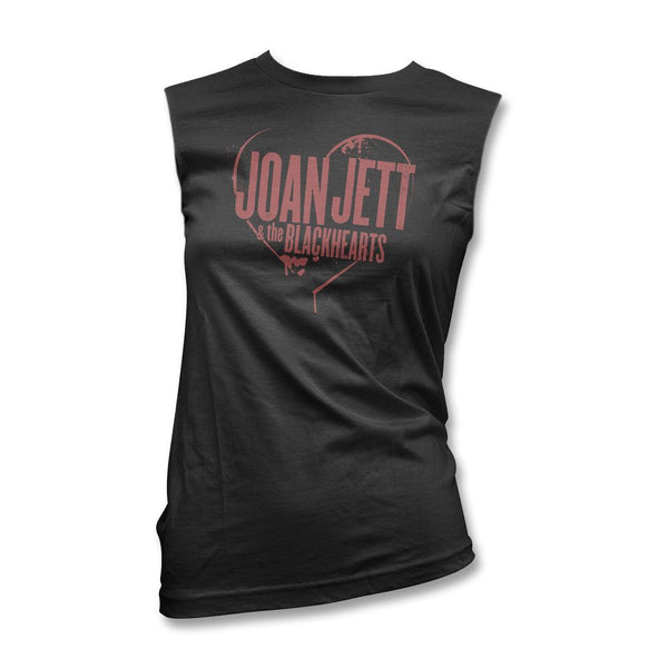 Spray Paint Logo Women's Muscle Tank - Joan Jett Official Store - 1