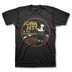 Jett Circle T-shirt - Men's - Joan Jett Official Store - 1