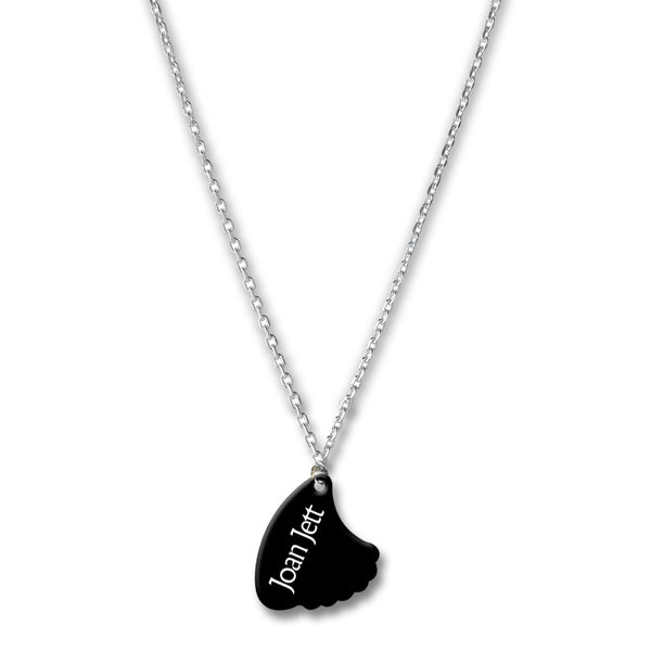 Official Joan Jett & The Blackhearts Shark Fin Pick Necklace