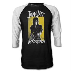 Never Yellow Raglan Shirt - Joan Jett Official Store - 1
