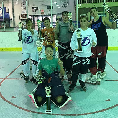 Sunshine Shootout Roller Hockey 2017 - Intermediate Division Champions