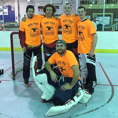 Roller Hockey Iron Man Champs