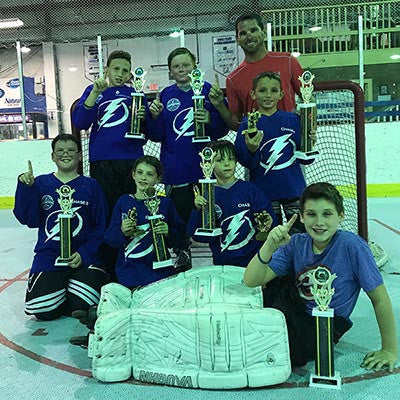 Sunshine Shootout Roller Hockey 2017 - Junior Division Champions