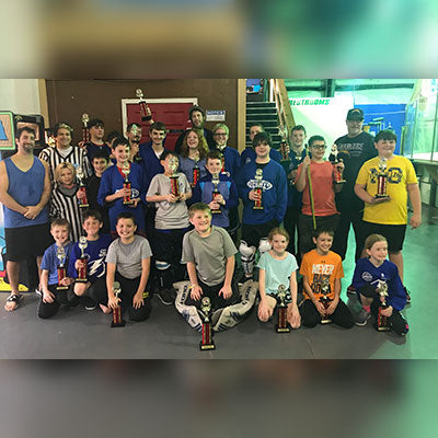 9 & UP Roller League Champs