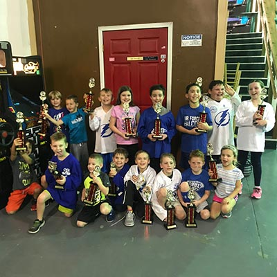 Ball Hockey 8U Champs