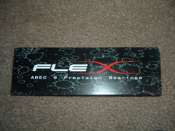 Flex Precision Bearings ABEC 9 Red 8mm set of 8